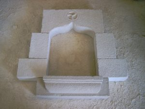 Detalle de ventana en piedra