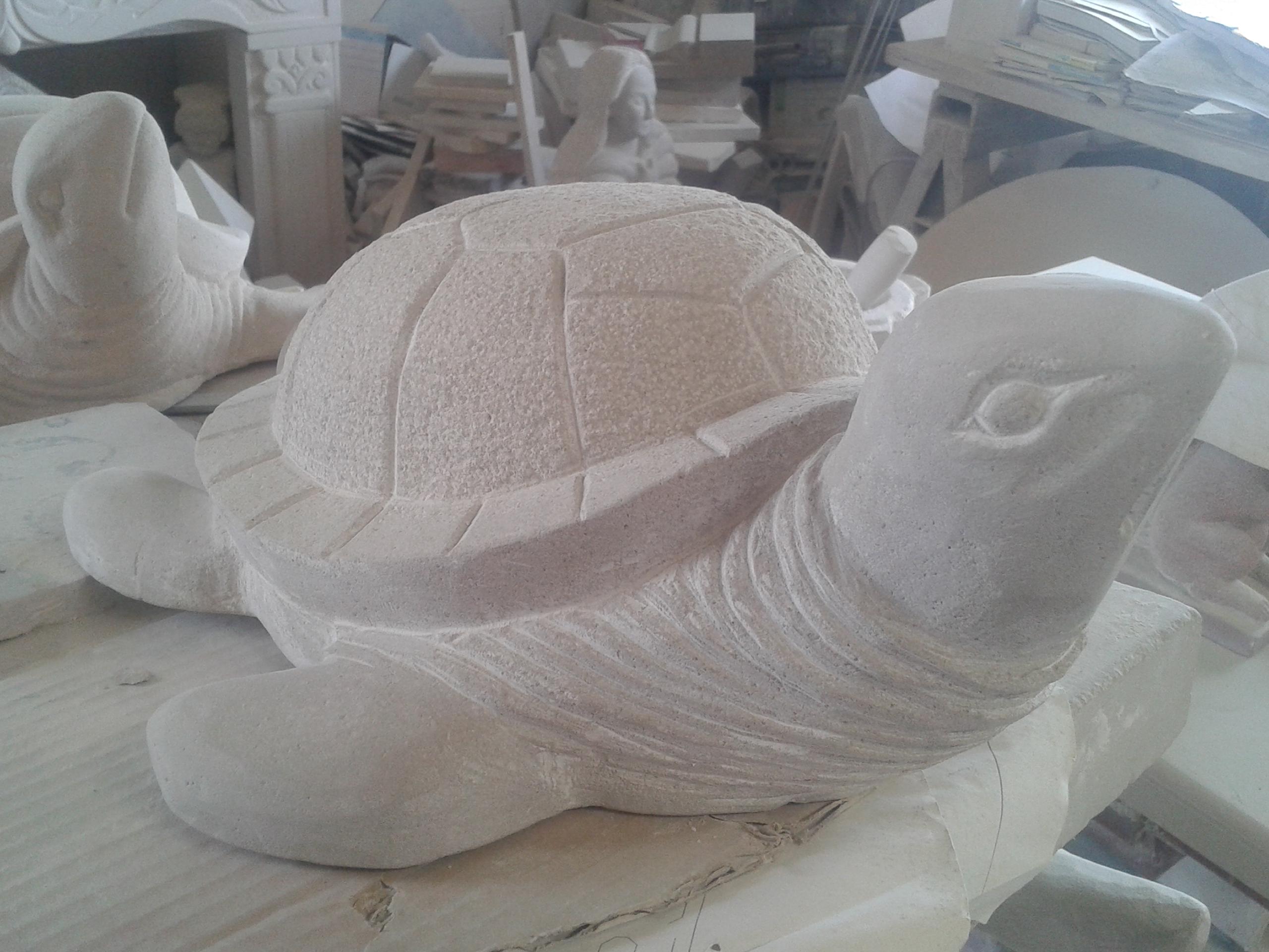 Escultura de una tortuga