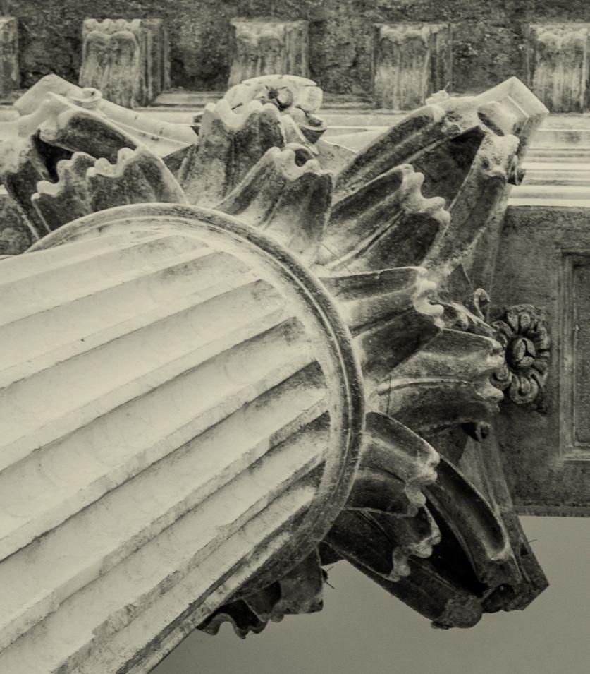 Capitel de una columna