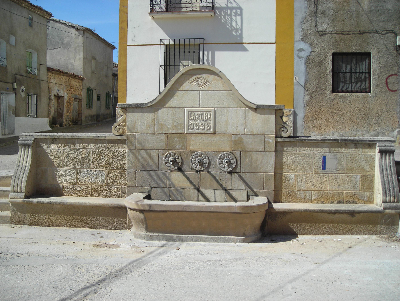 Fuente de la Toba en Guadalajara.