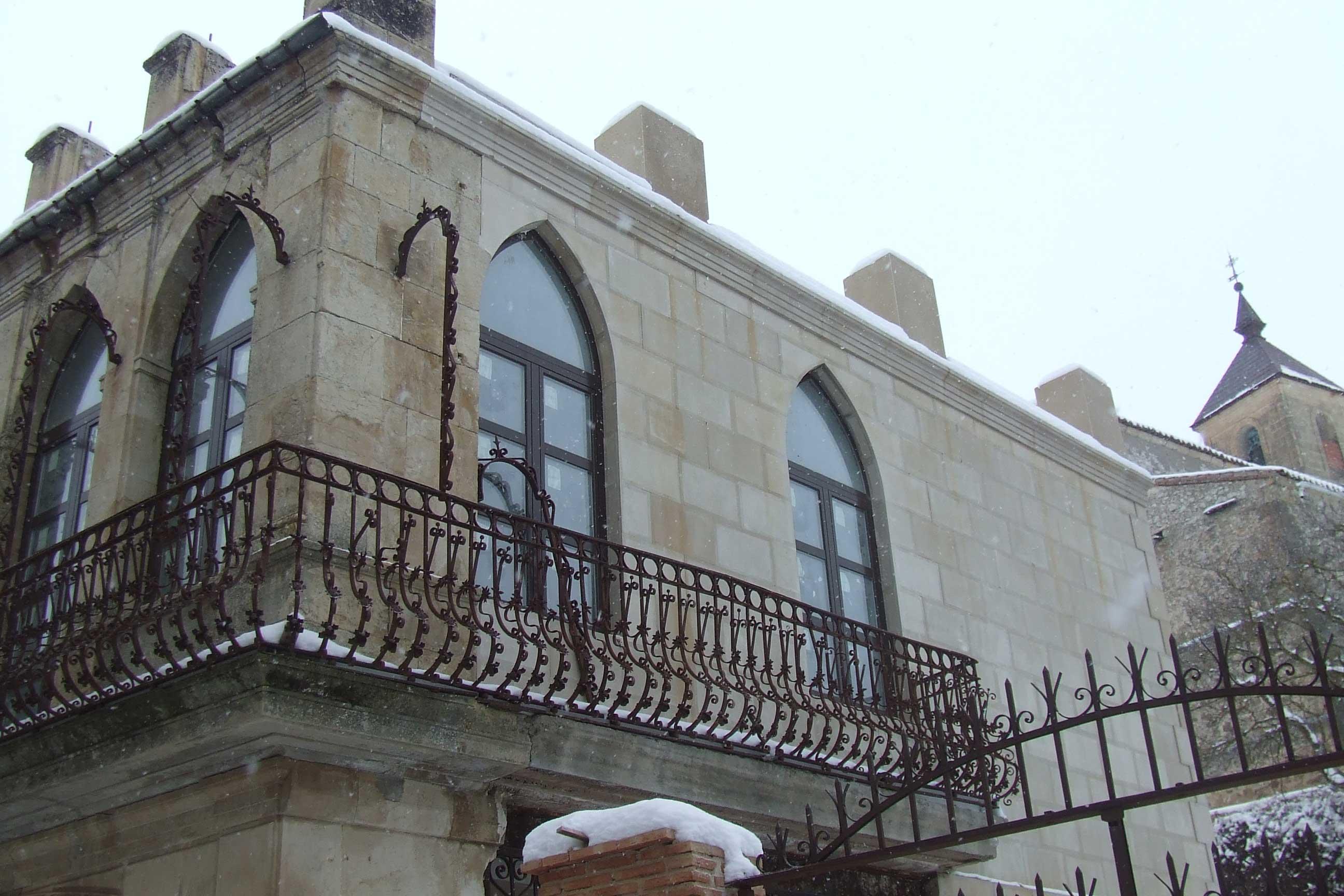 Restauración de un patrimonio privado en piedra
